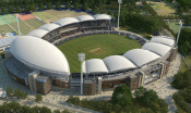 Adelaide Oval aerial photo