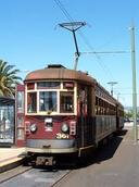 Old electric Glenelg tram