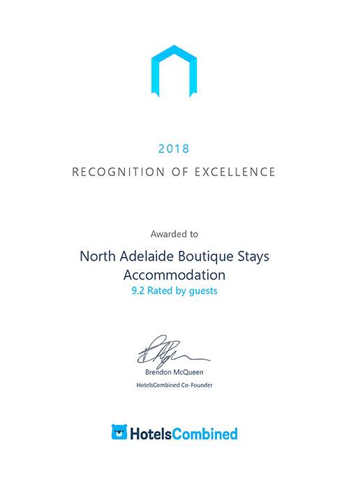 Hotels Combined Award